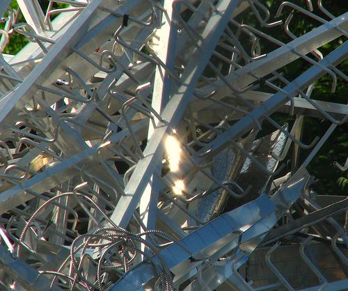 pile of metal scrap