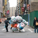 Diving for recyclables is illegal, but that's not stopping many