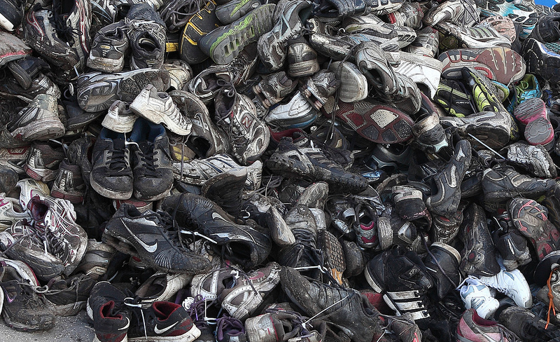 Shoe recycling system adds mileage to your footwear ...