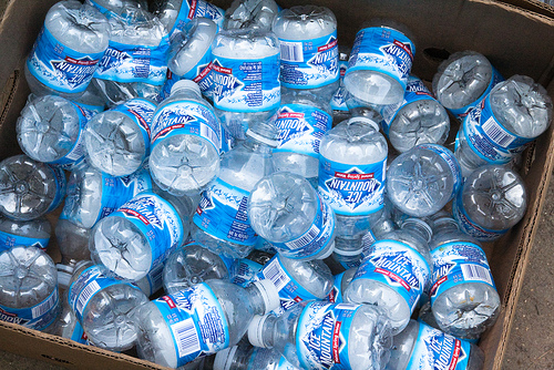 Water bottles From Steven Depolo.