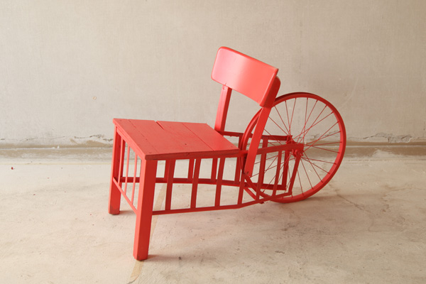 A chair from Collectibles III. From François Duquesnoy.