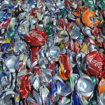 What happens to aluminum cans?