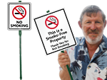 LawnBoss® No Smoking Signs